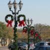 """36"""" Side Mount Pole Wreaths"""