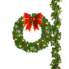 60 Inch Deluxe Pole Mount Wreath Decoration