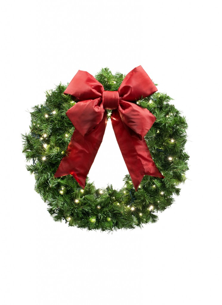 Small Wall Mount Commercial Wreath