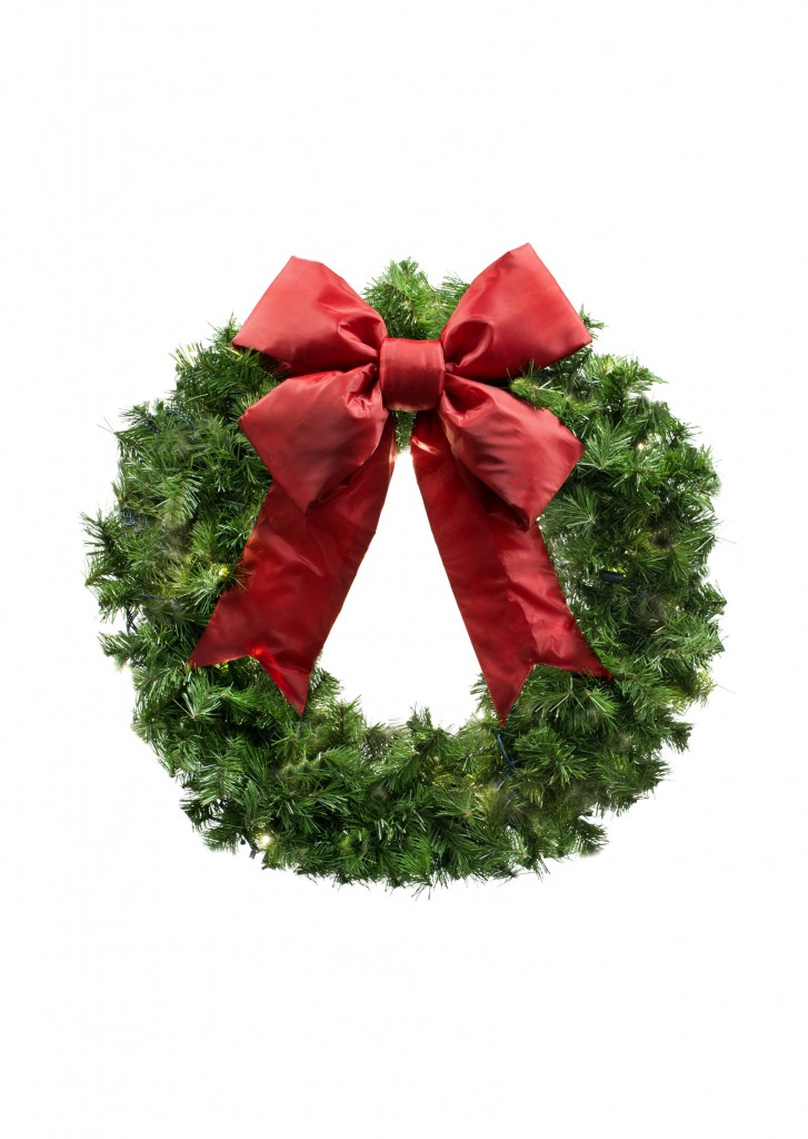 Small Commercial Christmas Wreath