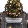 utdoor large Christmas wreath